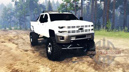 Chevrolet Silverado 3500 2015 for Spin Tires