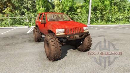Jeep Grand Cherokee 1994 trail v1.1 for BeamNG Drive