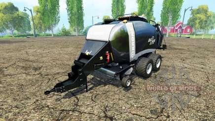 Krone BigPack 1290 black power for Farming Simulator 2015