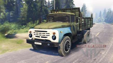 ZIL 130 MMZ 4502 for Spin Tires