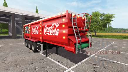 Krampe SB 30-60 Christmas Coca-Cola for Farming Simulator 2017