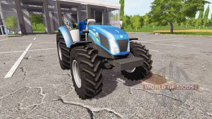 New Holland T4.75 v2.23 for Farming Simulator 2017