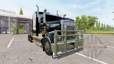 Kenworth T908 black for Farming Simulator 2017