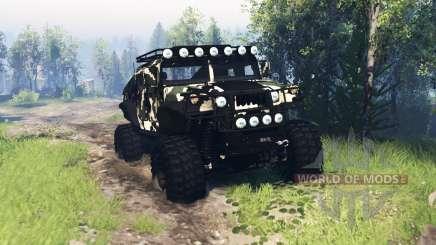 HMMWV M-1025 v4.0 for Spin Tires