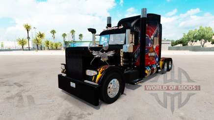 American Legend skin for the truck Peterbilt 389 for American Truck Simulator