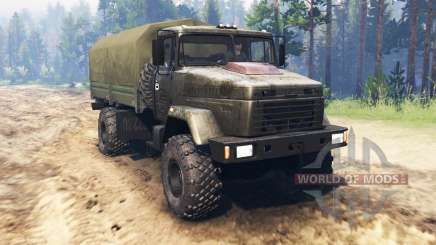 KrAZ 5131 for Spin Tires
