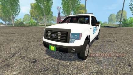 Ford F-150 NYPD for Farming Simulator 2015