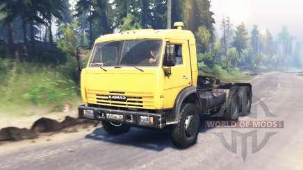 KamAZ 54115 v4.0 for Spin Tires