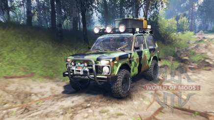 VAZ 2121 Niva Expedition v3.0 for Spin Tires