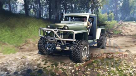 Willys Pickup Crawler 1960 v1.7.5 for Spin Tires
