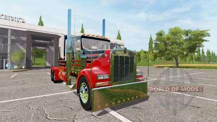 Kenworth W900 reworked for Farming Simulator 2017