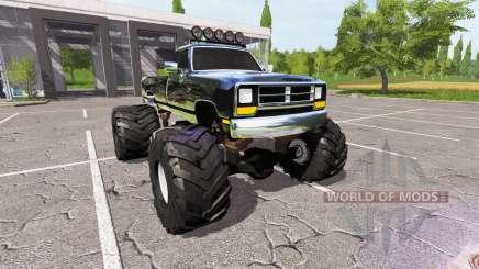 Dodge Power Ram monster for Farming Simulator 2017