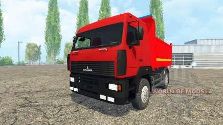 MAZ-555035 for Farming Simulator 2015