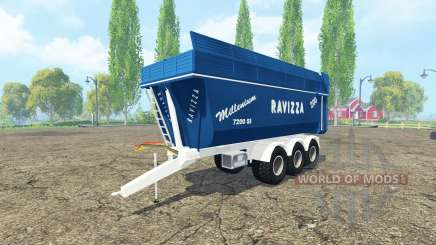 Ravizza Millenium 7200 multicolor for Farming Simulator 2015