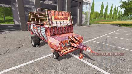 POTTINGER EUROBOSS 330 T rusty for Farming Simulator 2017