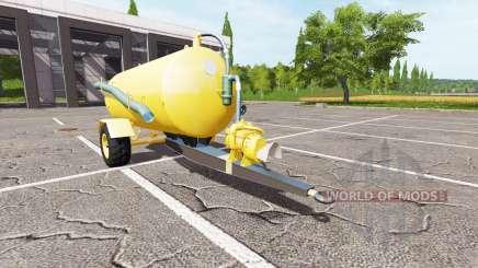 Trailer for Farming Simulator 2017
