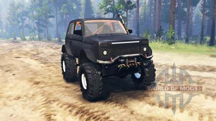 VAZ 2121 Niva Monster for Spin Tires