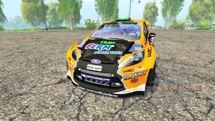 Ford Fiesta RS WRC for Farming Simulator 2015
