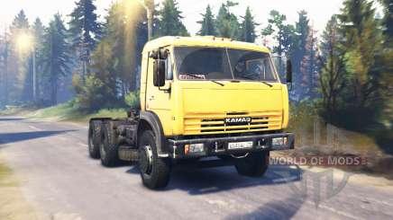 KamAZ 54115 v2.0 for Spin Tires