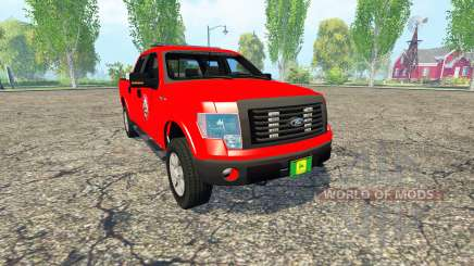 Ford F-150 Fire Department for Farming Simulator 2015