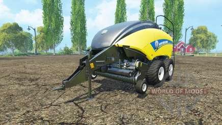 New Holland BigBaler 1290 wet bale for Farming Simulator 2015