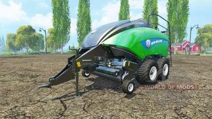 New Holland BigBaler 1290 gras bale for Farming Simulator 2015
