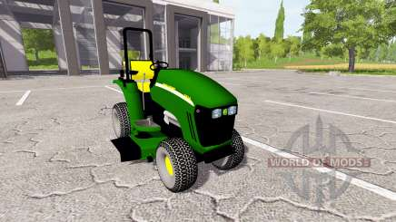 John Deere 3520 mower for Farming Simulator 2017