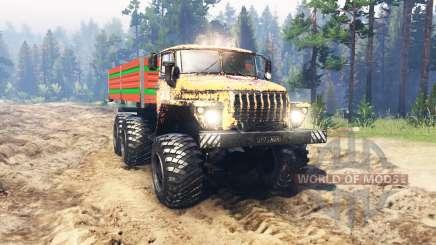 Ural 4320 Siberia for Spin Tires