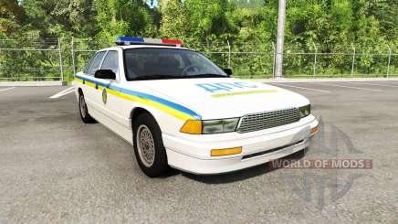 Gavril Grand Marshall Global Police v1.17 for BeamNG Drive
