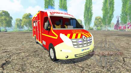 Renault Master 3 VSAV Terminer Officiel v2.0 for Farming Simulator 2015
