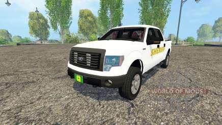 Ford F-150 Sheriff for Farming Simulator 2015