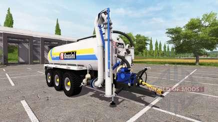 Bossini B200 blue v4.0 for Farming Simulator 2017