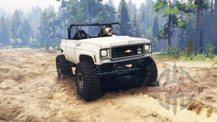 Chevrolet K5 Blazer crawler for Spin Tires