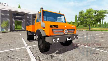 Mercedes-Benz Unimog U4023 for Farming Simulator 2017