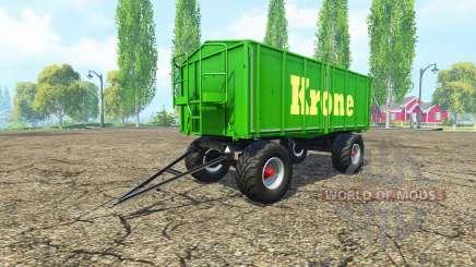 Kroger HKD 302 Krone v1.4 for Farming Simulator 2015