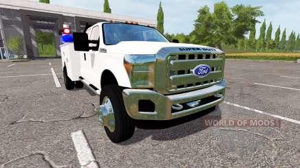 Ford F-550 2013 service for Farming Simulator 2017