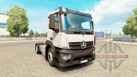 Mercedes-Benz Antos v1.1 for Euro Truck Simulator 2