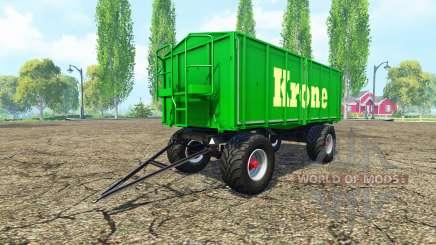 Kroger HKD 302 Krone for Farming Simulator 2015