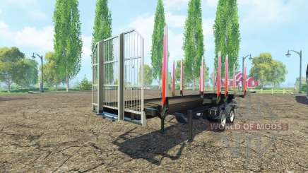 Semi-trailer Fliegl timber for Farming Simulator 2015