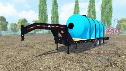 PJ Trailers fertilizer for Farming Simulator 2015
