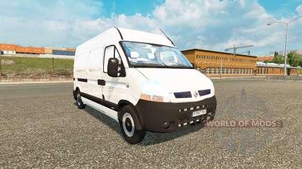 Renault Master for Euro Truck Simulator 2