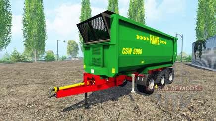Hawe CSW 5000 for Farming Simulator 2015