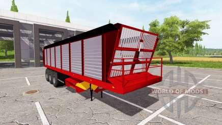 Feed trailer v2.0 for Farming Simulator 2017