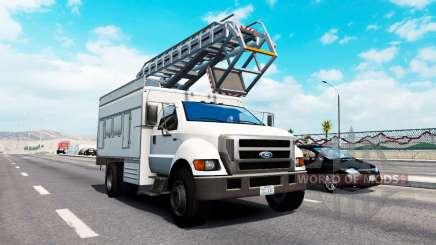 Advanced traffic v1.9 for American Truck Simulator