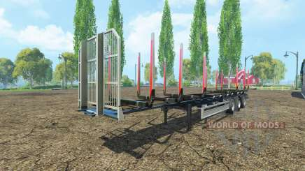 Semi-trailer Fliegl timber v2.0 for Farming Simulator 2015