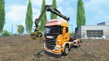Scania R730 forest for Farming Simulator 2015