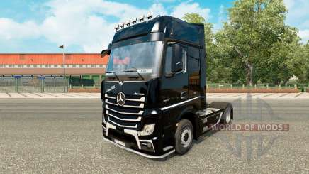 Skin Brutale for tractor Mercedes-Benz for Euro Truck Simulator 2