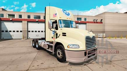Skin Stater Bros. the Mack Pinnacle tractor for American Truck Simulator