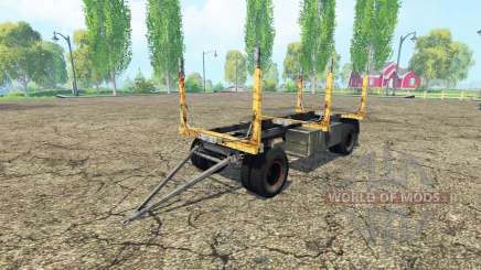 Forest trailer GKB for Farming Simulator 2015