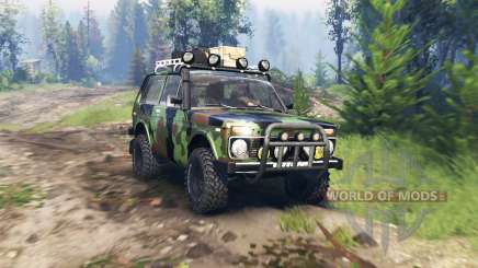 VAZ 2121 Niva Expedition v4.0 for Spin Tires
